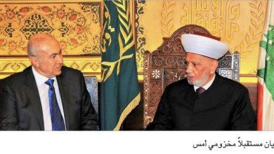Photo of مخزومي بعد زيارته دريان:  خطاب دياب لم يقدّم خطة عمل