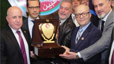 Photo of خلال حفل إطلاق نادي اللاعبين الدوليين هاشم حيدر: معكم لتحقيق أهدافكم النبيلة