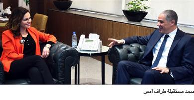 Photo of عبد الصمد بحثت التعاون الإعلاميّ مع الإتحاد الأوروبيّ