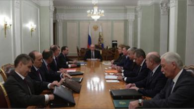Photo of بوتين يبحث مع مجلس الأمن الروسيّ تنفيذ اتفاق وقف الأعمال القتاليّة في إدلب