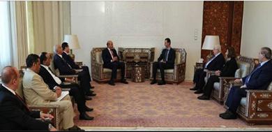 Photo of غداة توقيع مذكرة تفاهم لإعادة افتتاح المقار الدبلوماسيّة الأسد يبحث مع الوفد الليبيّ سبل مواجهة سياسات تركيا