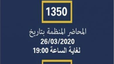 Photo of دوريّات للأمن العام ومحاضر ضبط لقوى الأمن وحصيلة المخالفات 184