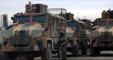 Photo of تفجير مدرّعتين عسكريّتين تركيّتين على يد إرهابيّين في إدلب