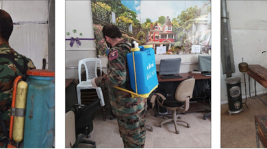 Photo of منفذيات القومي تواصل حملات التعقيم في المناطق