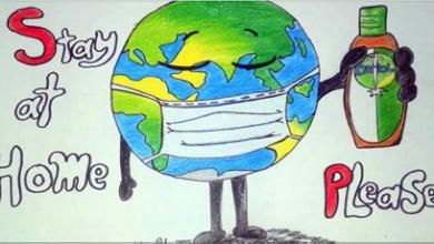 Photo of مبادرة فنّية توعويّة بالألوان والرسوم بعنوان «راح نرسم»