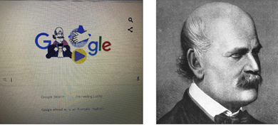 Photo of «غوغل» يستذكر الدكتور سيملفيس في زمن كورونا