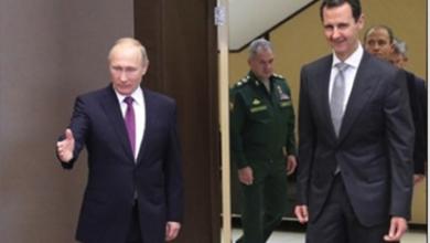 Photo of الكرملين يُطلع الرئيس السوريّ على الاتفاق الروسيّ مع تركيا  والأسد يُعرب لبوتين عن امتنانه لدعمه في مكافحة الإرهاب