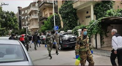 Photo of لقطات من حملات التعقيم التي يقوم بها «القومي» في المناطق