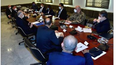 Photo of اجتماعان عسكريان لدياب في السراي