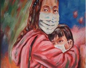 Photo of معرض تشكيلي بعنوان «الفنّ في زمن كورونا» في الجزائر
