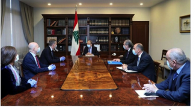 Photo of لازاريني زار عون مودّعاً: سأبقى أعمل لخدمة لبنان
