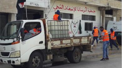 Photo of صور لحملة التعقيم التي نفذتها جمعية نور ومديرية «القومي» في بلدة كفركلا