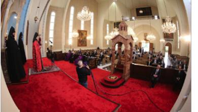 Photo of إحياء ذكرى الإبادة الأرمنية باحتفالات رمزية و مطالبة تركيا بالإعتراف بالمجزرة وبتعويضات