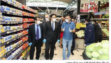 Photo of دياب يتفقّد الأسعار في «سبينس»: ممنوع المسّ بالأمن الغذائيّ