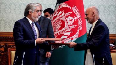 Photo of توقيع اتفاق لتقاسم السلطة بين الرئيس الأفغانيّ  وخصمه لإخراج أفغانستان من أزمتها السياسيّة