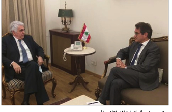 Photo of حتّي للسفير الألماني: حزب الله  مكوّن أساسي في لبنان