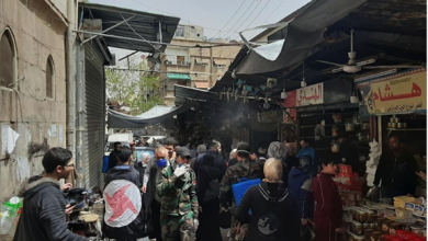 Photo of منفذية دمشق في «القومي» تواجه كورونا بعمليات التعقيم وتوزيع المساعدات الدوائيّة والغذائيّة