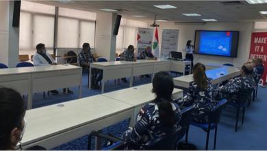 Photo of «رودز فور لايف» نظّمت دورة لقوى الأمن  عن سبل مواجهة «كورونا» والوقاية منه