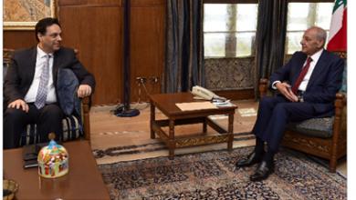 Photo of برّي عرض الأوضاع مع دياب ميقاتي: سنشارك في لقاء بعبدا