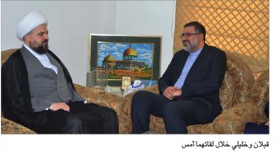 Photo of خليلي التقى قبلان و«تجمّع العلماء»: مستعدّون لمدّ يد العون إلى لبنان