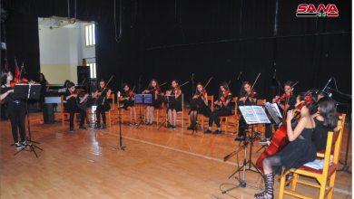 Photo of حفلٌ موسيقيٌ لأوركسترا «العجان الموسيقيّ»
