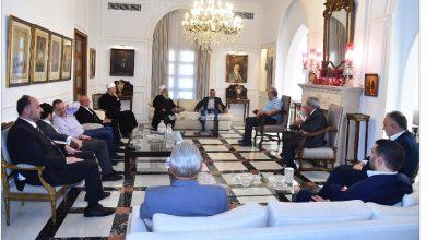 Photo of لقاء في دارة أرسلان: لن نسمح بالتفريط بحقوقنا
