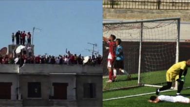Photo of الاتحاد الحلبي يفوز على الشرطة وجمهوره يتابع اللقاء من السطوح