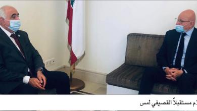 Photo of عرض والقصيفي قضايا وطنيّة وإعلاميّة  سلام: اللبنانيّون جميعاً في مركب متعدّد الثقوب والحريّ العمل لإعادته إلى برّ الأمان