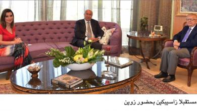 Photo of مخزومي يستقبل زاسيبكين  ويدعو روسيا إلى مساعدة لبنان