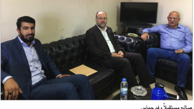 Photo of وفد من حماس سلّمه رسالة من هنية صالح: مؤتمر الأحزاب العربية يقف دائماً إلى جانب شعبنا الفلسطيني وقضيته العادلة