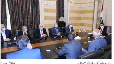 Photo of لقاء الأحزاب زار دياب داعماً الحكومة: طالبنا بالتوجه شرقاً والانفتاح على  سورية
