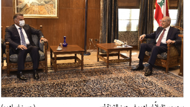Photo of برّي عرض الأوضاع مع إبراهيم وتلقى رسالتين من السيسي ونظيره الأرميني