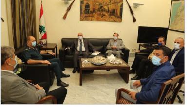 Photo of اللجنة الدولية لحقوق الإنسان تلتقي المجلس الأعلى للدفاع