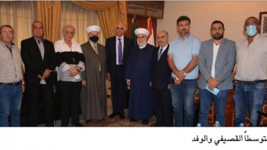 Photo of نقابة المحرّرين هنّأت إمام القصيفي: يهمّنا في قانون الإعلام وحدة التشريع