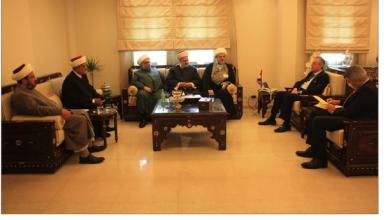 Photo of «تجمّع العلماء» زار علي عبد الكريم: أكد استعداد سورية دعم لبنان ضمن إمكاناتها 