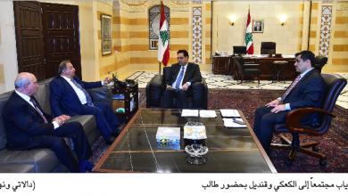 Photo of دياب التقى قنديل ونقيب الصحافة الكعكي: طلبنا الوقوف إلى جانب القطاع ودعمه