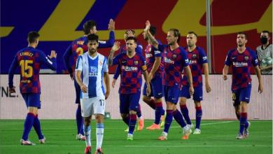 Photo of برشلونة يسقط اسبانيول ويطارد الريال