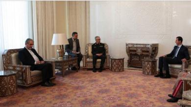 Photo of الأسد خلال استقباله رئيس أركان الجيش الإيرانيّ: اتفاقيّة التعاون العسكريّ تجسيد لعلاقاتنا الاستراتيجيّة