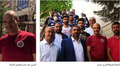 Photo of زيارة تاريخية لفريق النجمة إلى بعلبك خسر من «شبابها» والتقى بـ «وزيرها»
