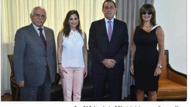 Photo of لقاء بين عبد الصمد وحب الله لتشكيل فريق عمل للإعلام الصناعي