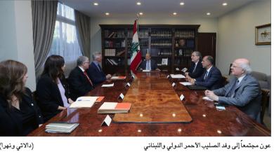 Photo of عون: لبنان متمسك بعودة النازحين إلى ديارهم وسورية ترحب وتوفّر لهم الدعم والرعاية