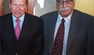 Photo of بشّور هنأ لحّود بانتصار تموّز والتقى قيادياً في حزب الكرامة المصري