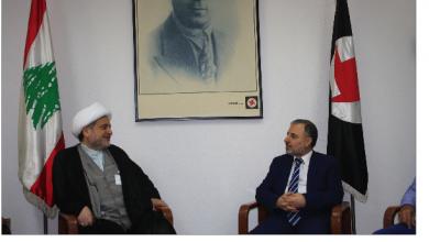 Photo of وفد تجمّع العلماء المسلمين يلتقي قيادة «القومي» لبحث الأوضاع الراهنة