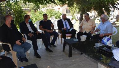 Photo of قيادة «القومي» تتلقى المزيد من اتصالات وبرقيات التعزية من رسميين وأحزاب وفاعليات