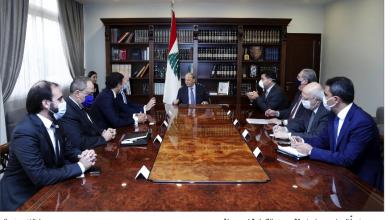 Photo of عون: للتوحد خلف برنامج يحظى بدعم دولي للخروج من المراوحة