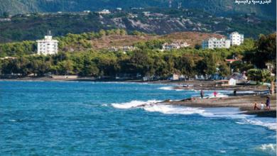 Photo of المتعة والآفاق الزرقاء على شاطئ البدروسيّة في اللاذقيّة