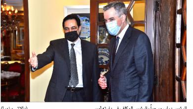 Photo of الرئيس المكلّف تفقد أضرار المرفأ وجال على رؤساء الحكومة السابقين