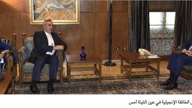 Photo of برّي تابع مع زوّارة شؤوناً سياسية وتربوية