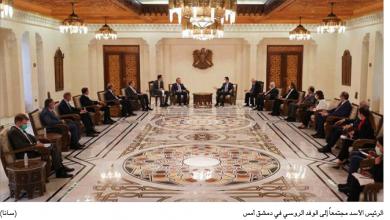 Photo of الأسد يشيد بالتعاون مع روسيا ولافروف لأولويّة الإعمار مع الاستقرار وحشد الدعم الدوليّ
