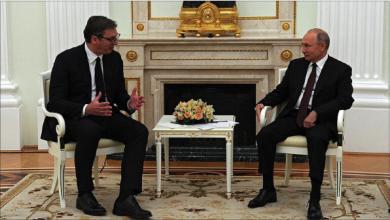 Photo of بوتين يبحث مع نظيره الصربيّ التسوية في كوسوفو..  وفوتشيتش يؤكد حياد بلاده عسكرياً.. وإشادة أوروبيّة بموقفه
